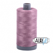 Aurifil 28 Cotton Thread - 2566 (Plum)